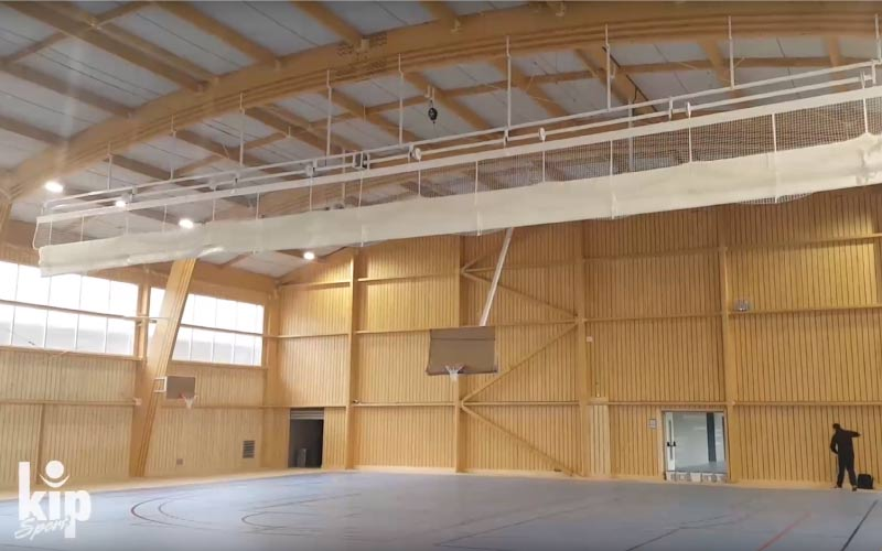 Rideau de séparation – Gymnase du collège Sainte-Marie de Meaux